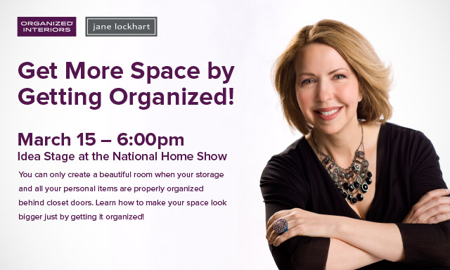 Jane Lockhart at National Home Show