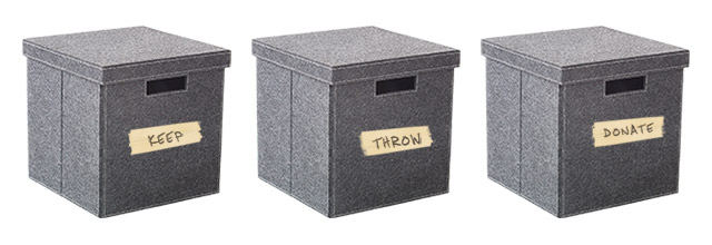 spring cleaning list boxes