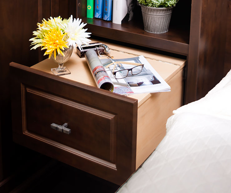 wall bed storage