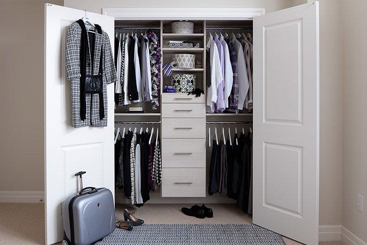 SmartLine closet organizer system