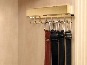 closet accessory organizer belt rack