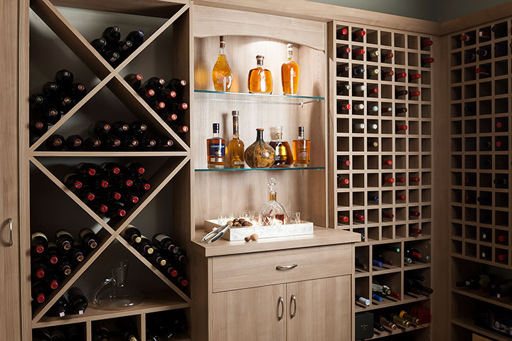 custom cabinetry ideas wine