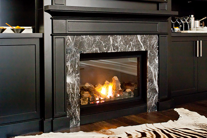 Fireplace entertainment unit ideas