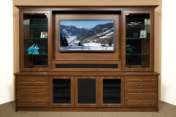 how to determine your entertainment unit s best tv height. Black Bedroom Furniture Sets. Home Design Ideas
