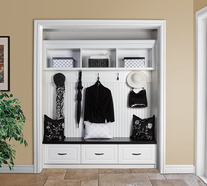 mudroom ideas closet