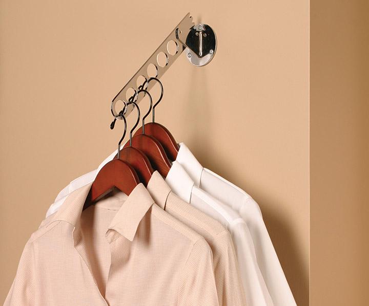 closet accessory storage four position hanger