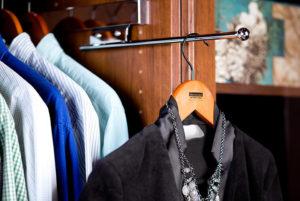 closet accessory organizer valet rod