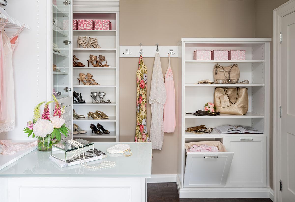 Dressing Room Closet Redesign