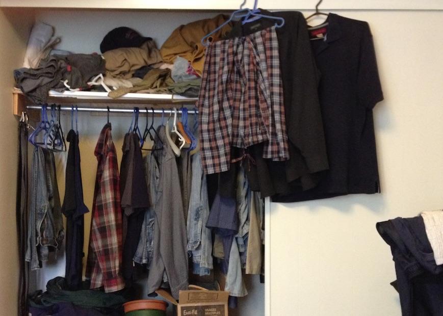 clutterbug closet