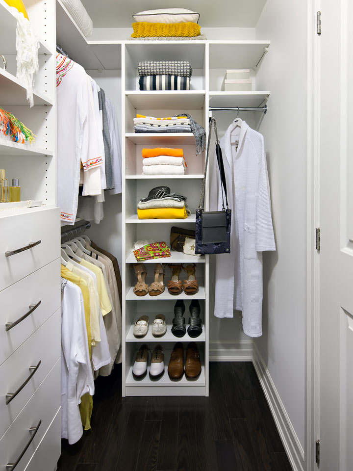 home disorganization closet organizer