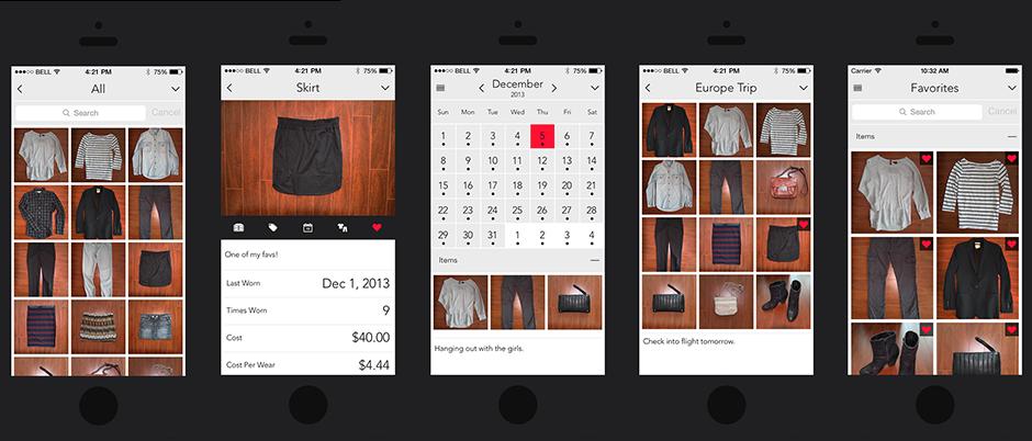 Closet+ organization apps