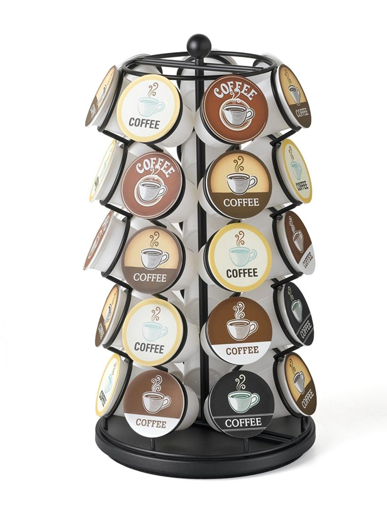home organization gift ideas coffee pod spinner