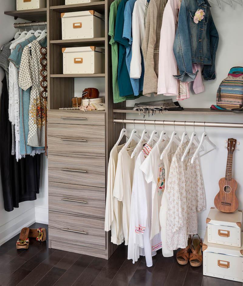 Canadian home organization company, closet