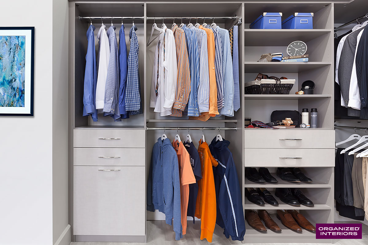 gift ideas for dads, clothes in closet