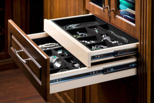 closet accessory organizer jewellery drawer
