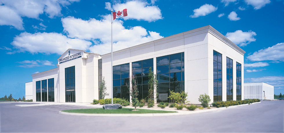 Organized Interiors building, Canadian home organization company