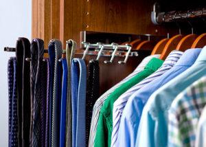 closet accessory organizer tie rack