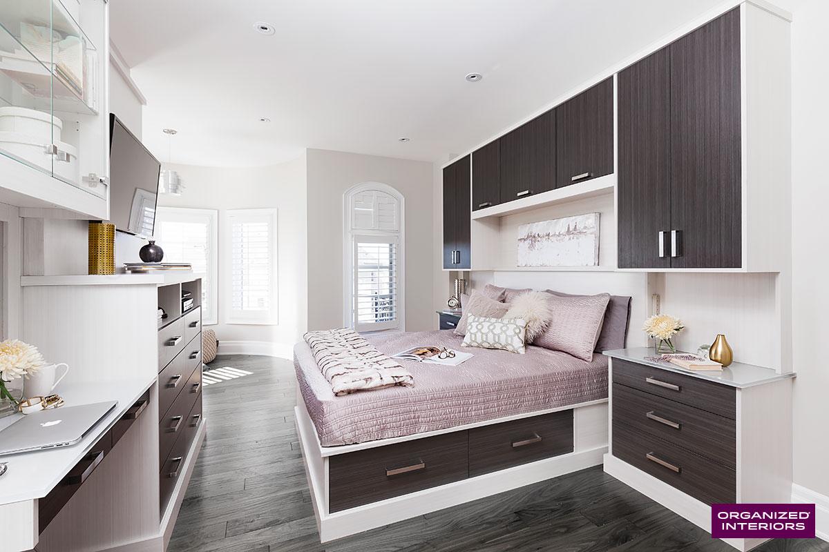 seasonal clothes storage bed surround
