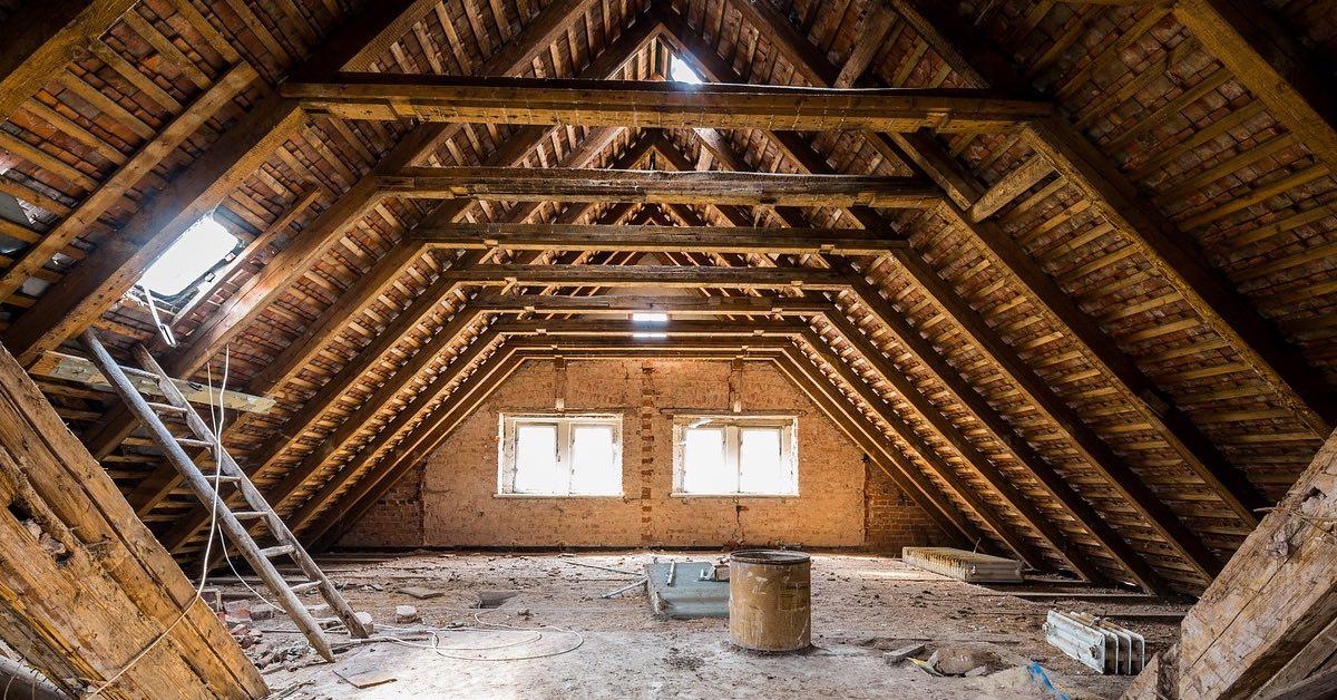 hidden home storage space attic