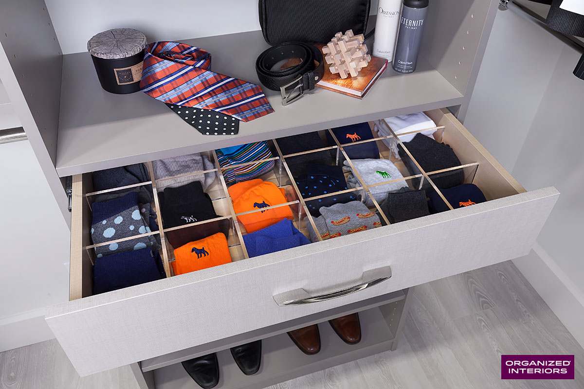 closet storage tips drawer