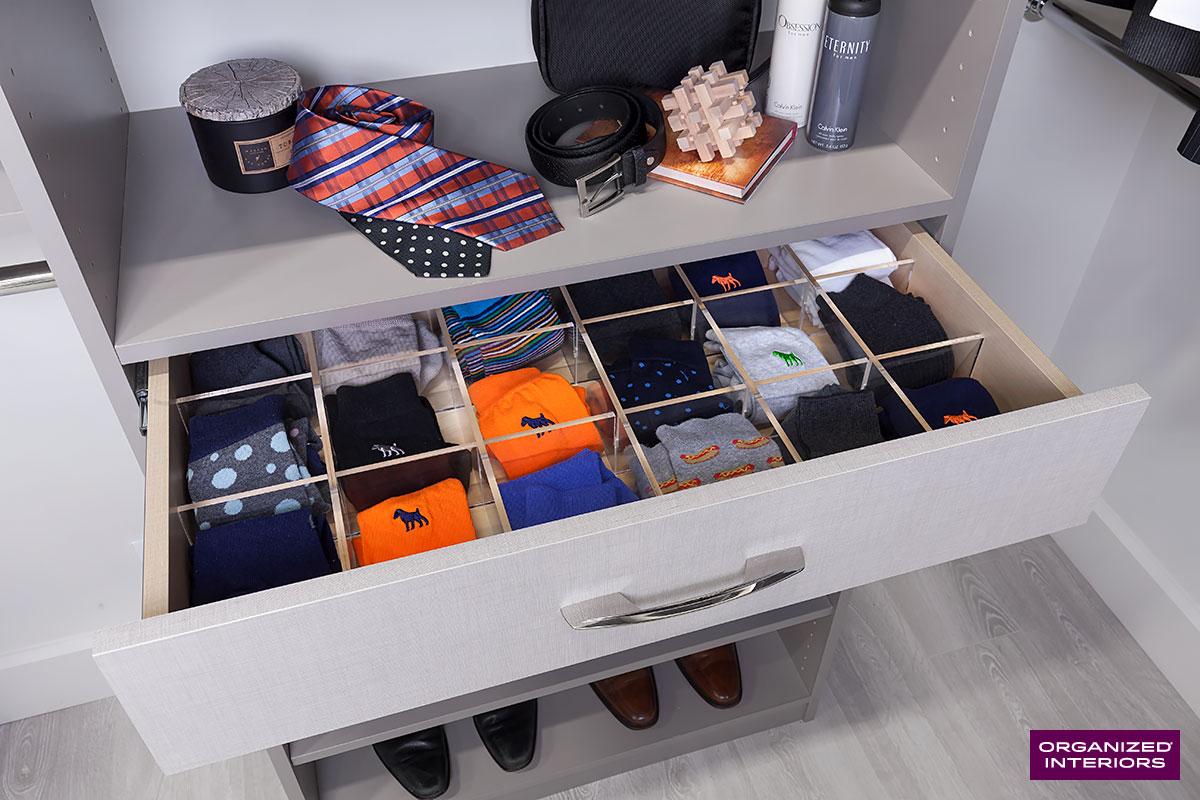 closet storage tips drawer