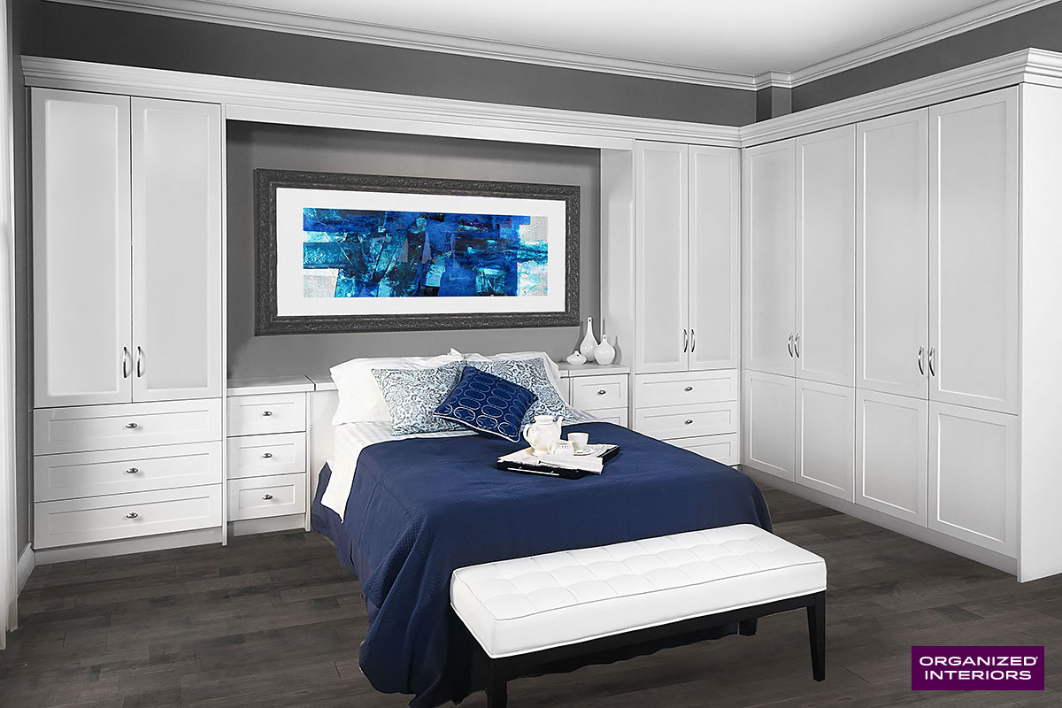 bedroom storage furniture ideas bed surround