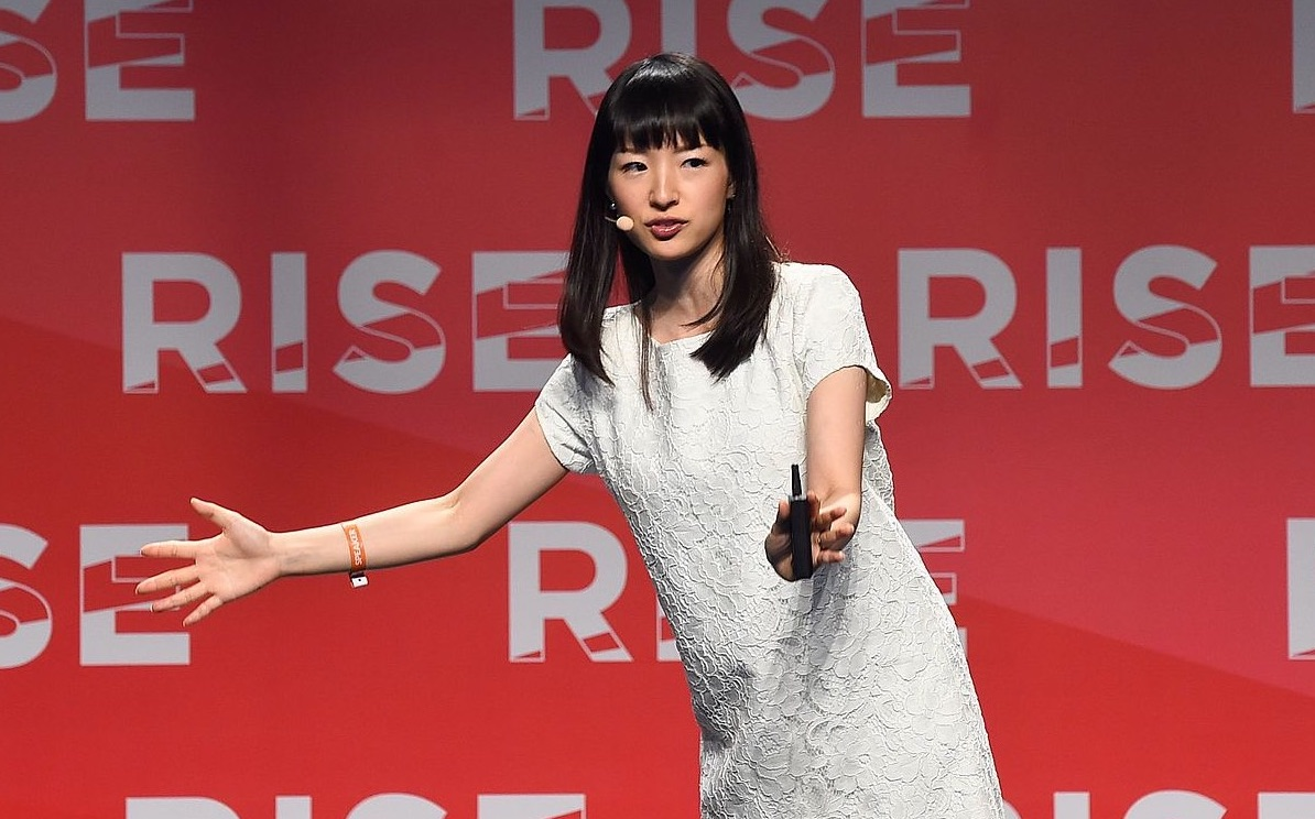 marie kondo facts, public speaking