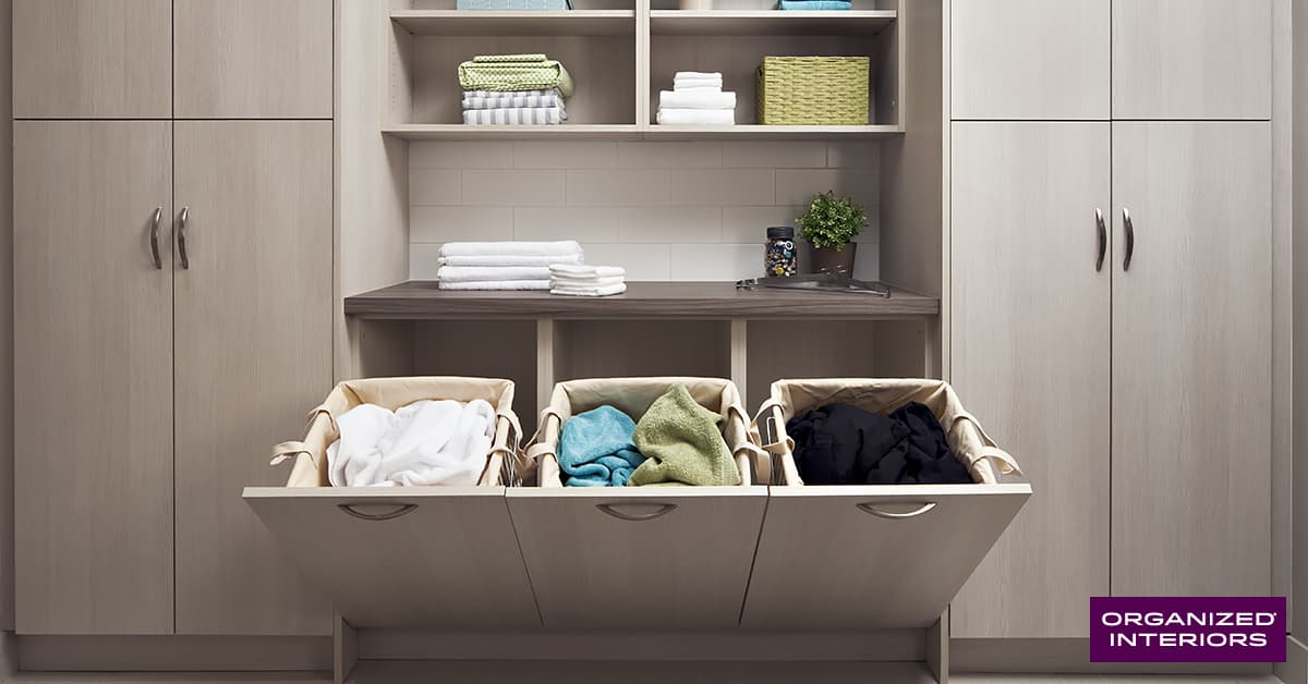 home organization projects, laundry room