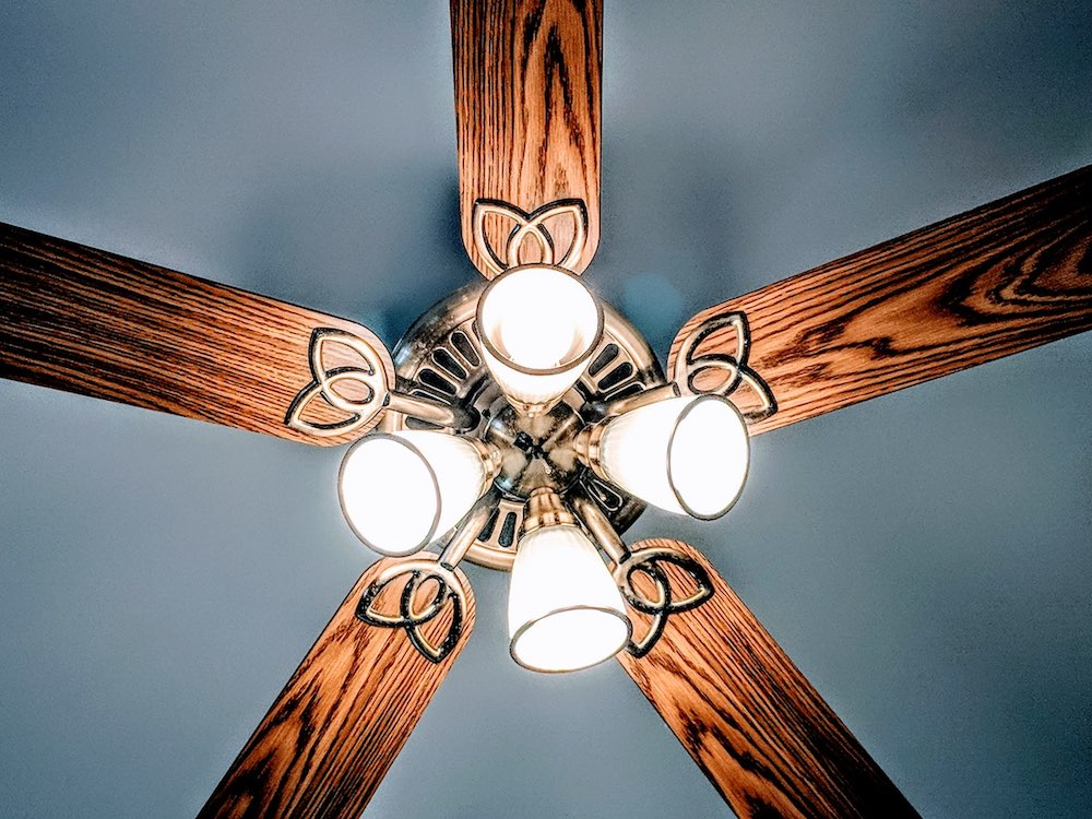 home cooling tips ceiling fan