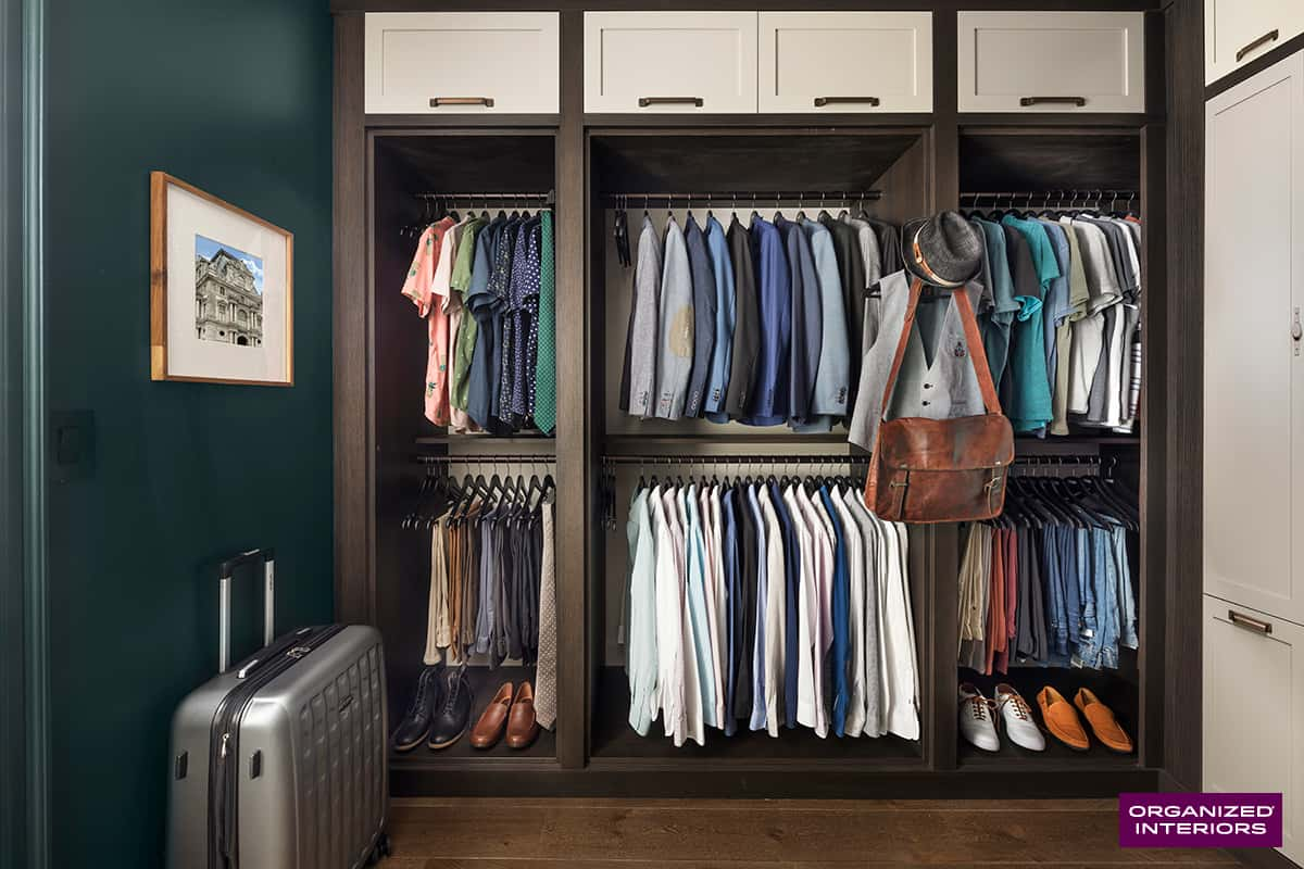 men's closet design