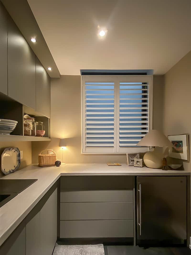 tiny kitchen space