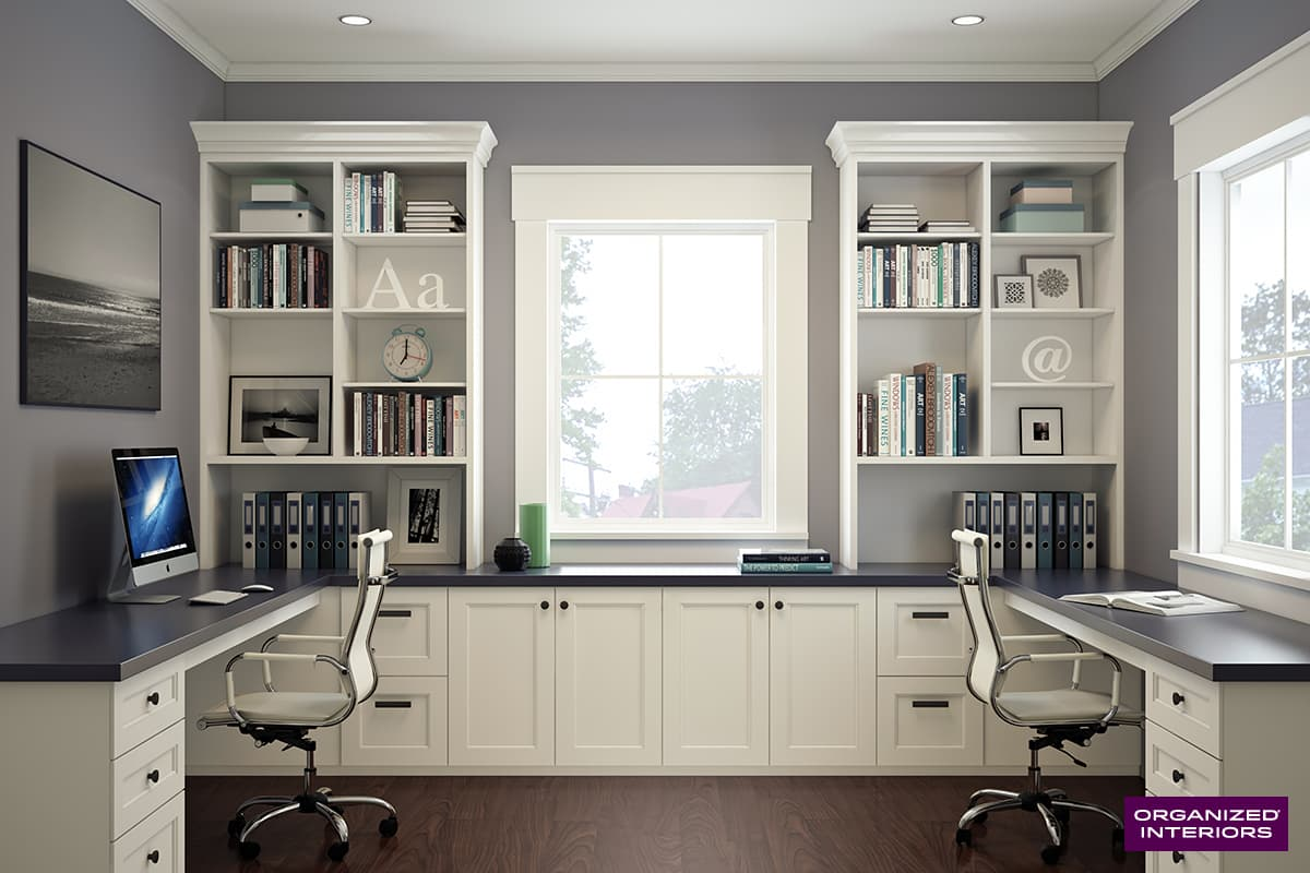 Custom Home Office Ideas | Organized Interiors