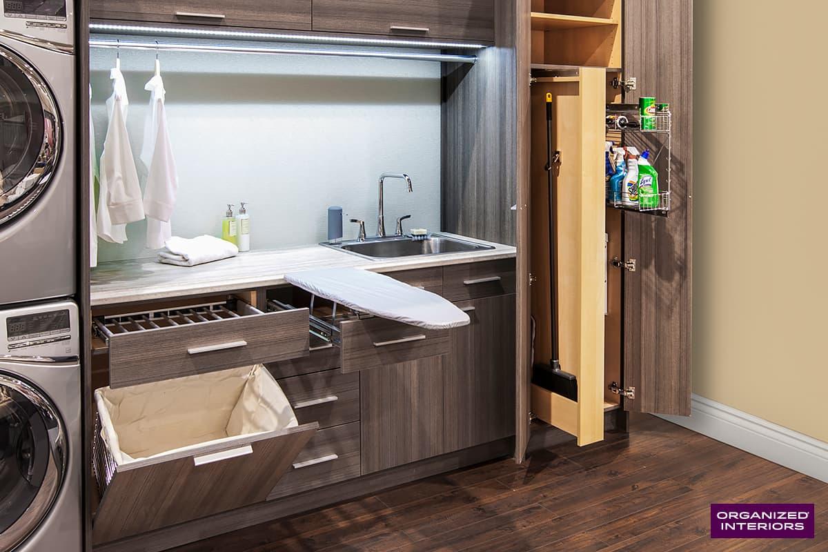Laundry Room Storage & Organization Solutions